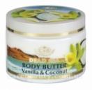 Сливки  для тела «Ваниль и кокос» 300мл