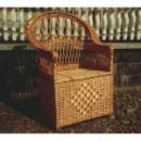 Кресло плетеное из лозы «Тумбочка»