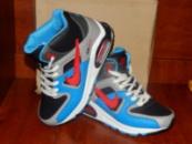 Nike Air Max черные с синим