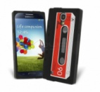 Чехол для Samsung I9500 Galaxy S4 «Ретро кассета»