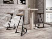Каркас барного стула в стиле LOFT 0.1