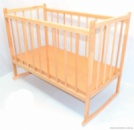 Ліжко - качалка дерев«яне №2