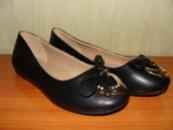 Туфли женские черные VTTV