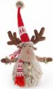 Мягкая игрушка «Новогодний Олень в красном колпаке» 48см