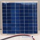 Солнечная поликристаллическая панель 5Вт 18В.