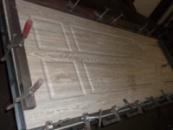 Установка МДФ накладок на металлические двери