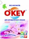 Пральний порошок-автомат для кольорових речей «Квітковий букет» O'KEY Color