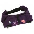 Рюкзак - переноска Смарт Rz103 фиолетовый с цветами ilovemum