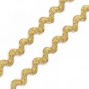 Тесьма «Вьюнчик» золото