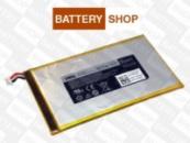 Аккумулятор для планшета Dell Venue 7 T01C 3730 / Venue 8 T02D 3830, батарея P706T