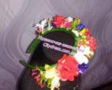 ободок украинский Полевые цветы 02002
