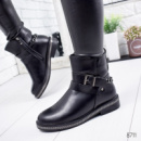 Ботинки женские Gloss черные