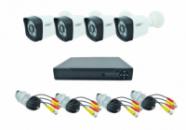 Комплект видеонаблюдения UKC D001-4CH AHD 720P 3.6 мм
