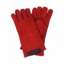 Перчатки сварщика Краги Dnipro-M Красные