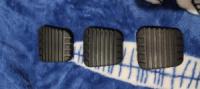 Накладка педали Таврия, 1102, 1103, 1105 (тормоз, сцепление) 1шт. Украина