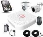 Универсальный комплект AHD видеонаблюдения Longse 2M1V1N c 2 камерами 2 Мп + HDD 500Гб