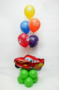 Композиции из гелиевых шаров (фонтаны)