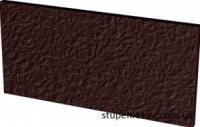 Подступени базoвая плиткa структурная NATURAL BROWN 30x14,8