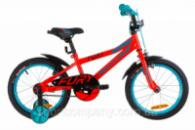 Велосипед 16« Formula FURY 14G St с крылом Pl 2019 (красно-бирюзовый)