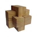 Деревянная головоломка Круть Верть Крест Дюбуа 7х7х7 см (nevg-0019)