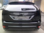 Ford Focus полировка, хром в черный глянец, тонировка оптики
