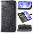 Кожаный чехол (книжка) Art Case с визитницей для Xiaomi Redmi K30 Черный