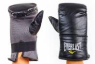 Снарядные перчатки кожаные EVERLAST 3645(S-XL) черный