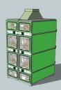 Коронно-электростатический сепаратор