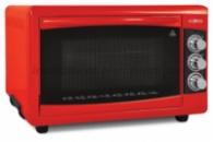 Электродуховка Ecotec - 40 л, 1300 Вт, красная