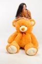 Плюшевый медведь Томми 200см Светло-коричневый