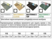 Мембрана супердифузионная MASTERMAX 3 CLASSIC, 135г/м2, рулон 1,5х50м