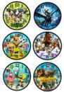 Часы детские герои мультиков + подарок