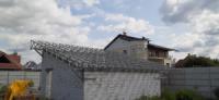 Металлоконструкция Крыша под солнечные батареи