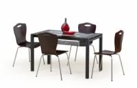 Стол со стеклянной столешницей «ABRAHAM + стулья K84»