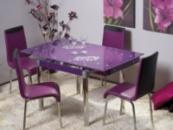 Столы стеклянные для кухни,столовой,журнальные столики