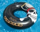Пляжный надувной круг Intex 58268 Пират Pirate Tube диаметр 107 см.