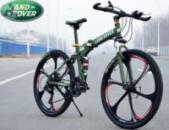 Элитный Велосипед LAND ROVER Green на литых дисках