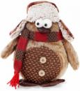 Новогодняя мягкая игрушка «Пингвин» 30х15х28см