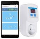 Терморегулятор Tessla TRW c Wi-Fi в розетку