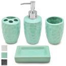 Набор аксессуаров для ванной Stenson R-30154 4 предмета 7,5х21х25 см