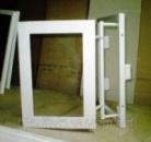 Потайной люк невидимка под плитку 300х300 мм