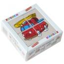 Кубики «Сложи рисунок: Транспорт», KOMAROVTOYS