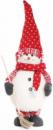 Мягкая новогодняя игрушка «Снеговик с метлой» 65см