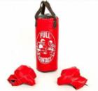 Детский боксерский набор (перчатки+мешок) FULL CONTACT 4675-МR красный