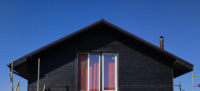 Вентильований фасад з обпаленої деревини