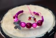 Браслет Шамбала для девочек - красивое украшение с бабочкой и яркими бусинами. Подарок на Новый год, ДР или Рождество