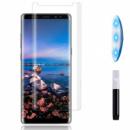 Защитное 3D стекло UV для Samsung Galaxy Note 8 Прозрачное