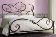 Кованая кровать «Аланья»