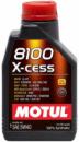 5W40 1L 102784 MOTUL 8100 X-cess 5W40 1L Масло синтетическое ДВС 5W-40 (368201/102784)