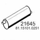Глушник MAN G90/M90, 81151010251, 49368, 49381 (вироб-во HOBI)